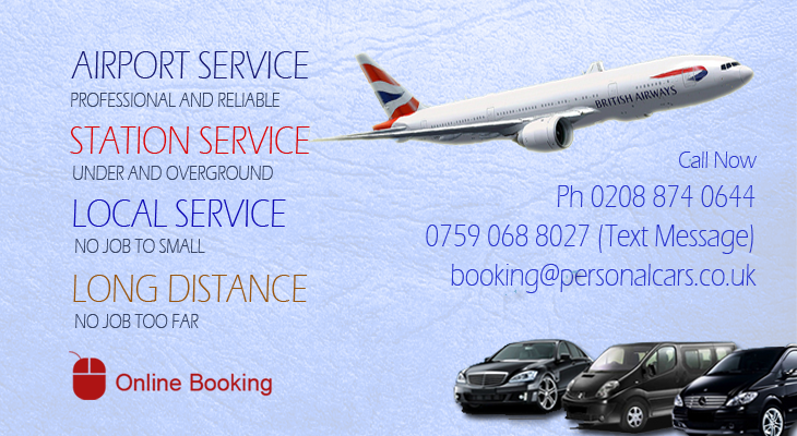 airport transfer_minicab_taxi-service_personal cars_0208-874-0644